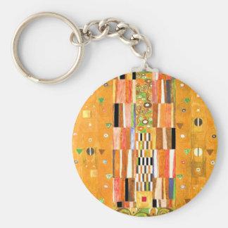 Ende Gustav Klimt der Wand Schlüsselanhänger