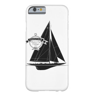 Endeavour Black Barely There iPhone 6 Hülle