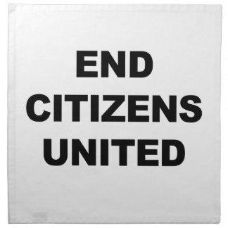 Enden-Bürger vereinigt Stoffserviette