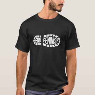 Enden-Feminismus (helles Logo) T-Shirt