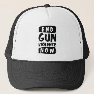 Enden-Gewehr-Gewalt jetzt Truckerkappe