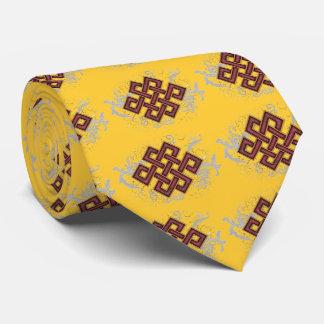 Endloser Knoten Personalisierte Krawatten