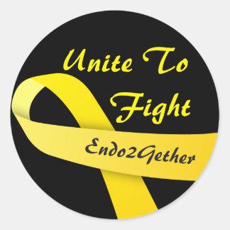 Endo2Gether logo sticker