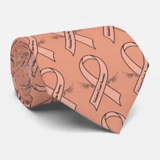 Endometrial Krebs-Bewusstsein Krawatte