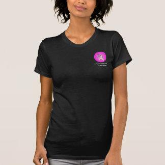 Endometriosis-Band mit Himbeerschmetterling T-Shirt