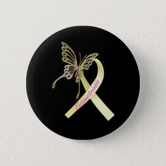 Endometriosis-Band Runder Button 5,7 Cm