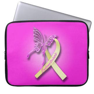 Endometriosis-Bewusstseins-Band Laptopschutzhülle