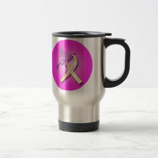 Endometriosis-Bewusstseins-Reise-Tasse Reisebecher