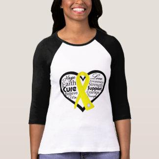 Endometriosis-Herz-Band-Collage T-Shirt