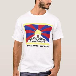 ENDungerechtigkeit - HILFE TIBET T-Shirt
