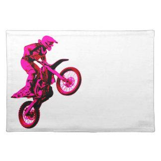 Enduro pink tischset