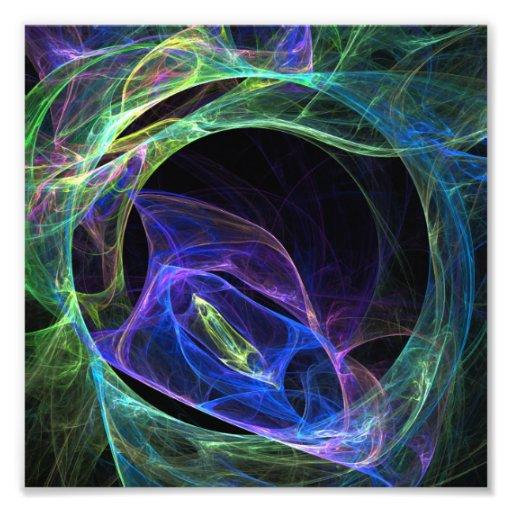 Energie-Fraktal Photodrucke