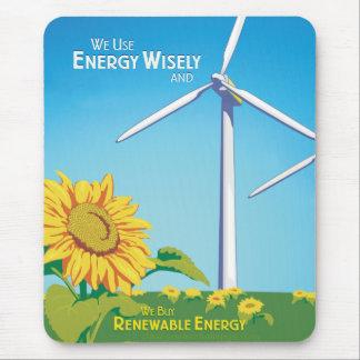 Energie klug u. Kauf-Energien-Mausunterlage Mousepads