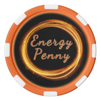 Energie-Penny Poker Chips