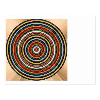 Energie-Rad Chakra SCHABLONE addieren TEXTIMG Postkarten