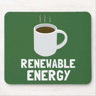 Energien-Kaffeetasse Mousepads