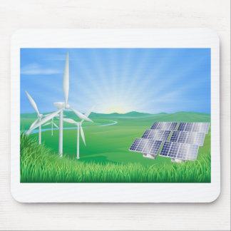 Energienillustration Mauspads