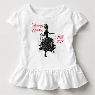 Engel 2017 der Mama Weihnachts Kleinkind T-shirt