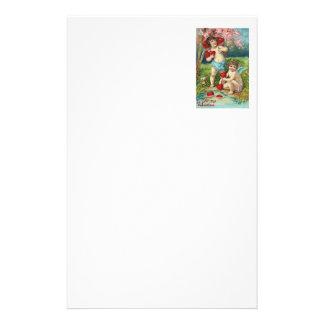 Engel-Amor-Herz-Feld-Baum Briefpapier