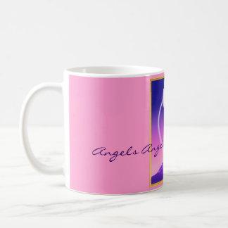 Engel-An-Dämmerung-Lrg, Engels-Engels-Engels-Engel Kaffeetasse