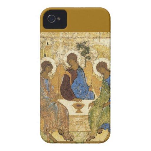 Engel an Mamre Dreiheit iPhone 4 Hülle