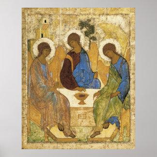 Engel an Mamre Dreiheit Posterdrucke