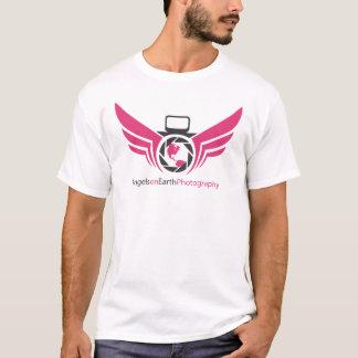 Engel auf Erdphotographielogo Pink.pdf T-Shirt