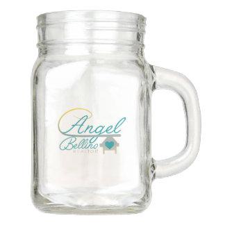 Engel Bellino wirkliches Anwesen-Maurer-Glas Einmachglas