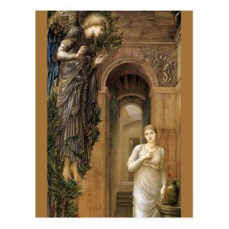 Engel Burne-Jones Ankündigungs-CC0423 Postkarte