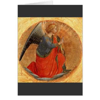 Engel der Ankündigung c1437 Grußkarte