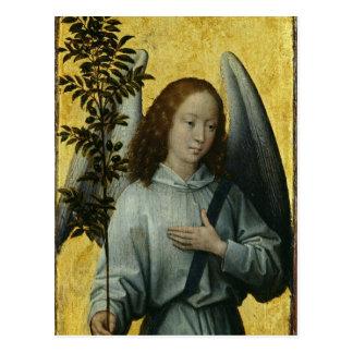 Engel, der einen Ölzweig hält Postkarte