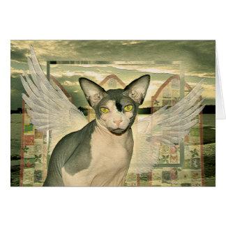 Engel der Karten-| Sphynx mit tiefstem Beileid Karte