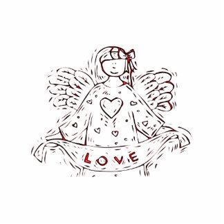 Engel der Liebe Freistehende Fotoskulptur