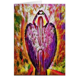 Engel der Liebe Karte