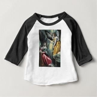 Engel, der mit Mary spricht Baby T-shirt
