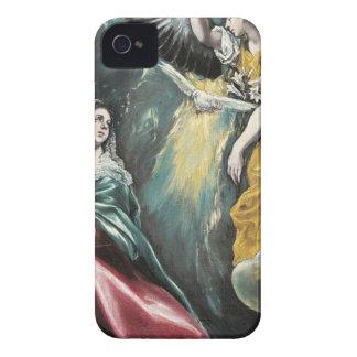 Engel, der mit Mary spricht iPhone 4 Hülle