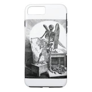 Engel der TodesVintagen Anatomie iPhone 8 Plus/7 Plus Hülle