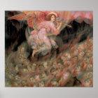 Engel, der zu den Soulen in der Hölle durch Evelyn Poster