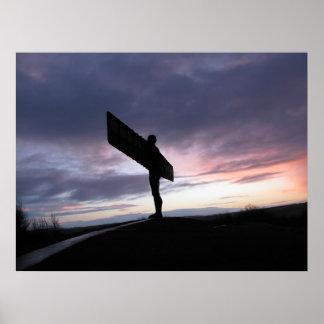 Engel des Nordens Plakatdrucke
