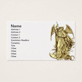 Engel des Schutzes Visitenkarte