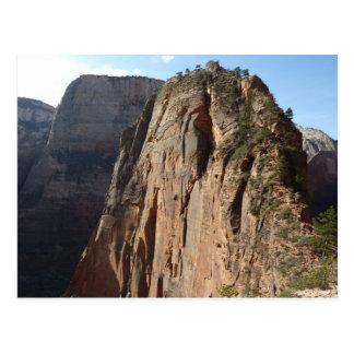 Engel, die an Zion Nationalpark landen Postkarte