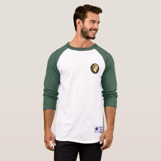 Engel durch das Glasmann-Shirt T-Shirt