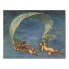 Engel führen von Adonis führten durch Amoren durch Karte