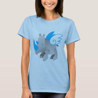 Engel kommen in alles Größen NASHORN T-Shirt