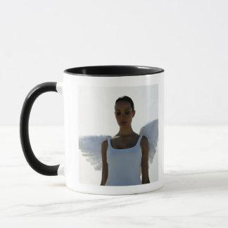 Engel mit den Augen geschlossen Tasse