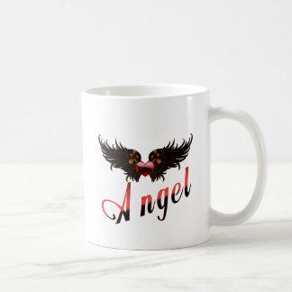 Engel - mit Engels-Flügel-Entwurf Kaffeetasse
