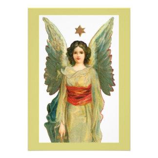 Engel mit Goldstern Ankündigungen