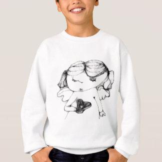 Engel mit Herzen Sweatshirt