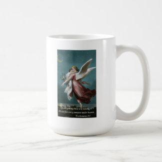 Engel mit KindEcclesiastes 3:1 Kaffeetasse