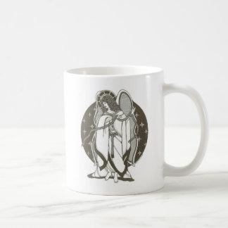 Engel mit Schärpe Kaffeetasse